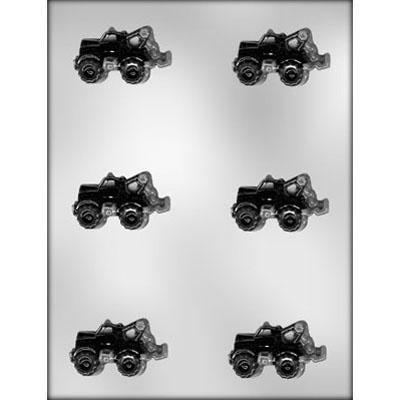 Tow Truck Chocolate Mold
