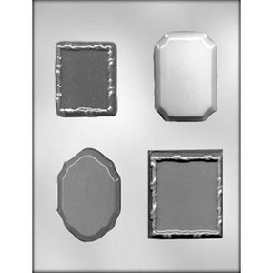 4Pc Frame Chocolate Mold