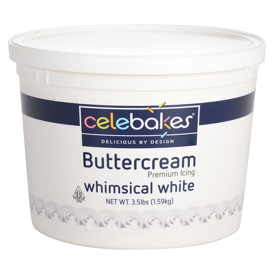 Celebakes Whimsical White Buttercream - 3.5lbs