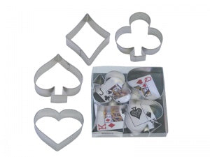 Card Suit Cookie Cutter Set