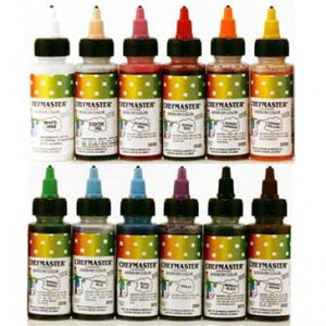 Chefmaster Airbrush Color - Variety Pack