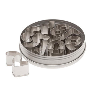 Ateco Numbers Cutter Set - 9 Pieces