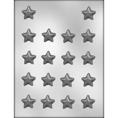 18Pc Flat Star Chocolate Mold