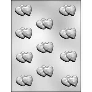 Double Heart Chocolate mold
