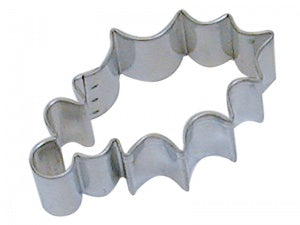 "3.25"" Holly Leaf Cookie Cutter"