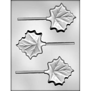 Maple Leaf Lollipop Chocolate Mold