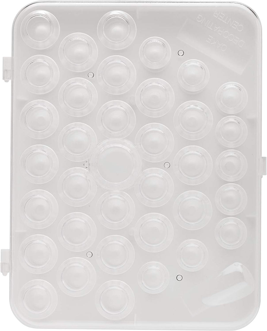 Ateco Tube Storage Box - 37 Tube Compartments