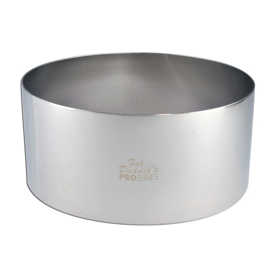 Fat Daddio's Stainless Steel Cake Ring 8x3