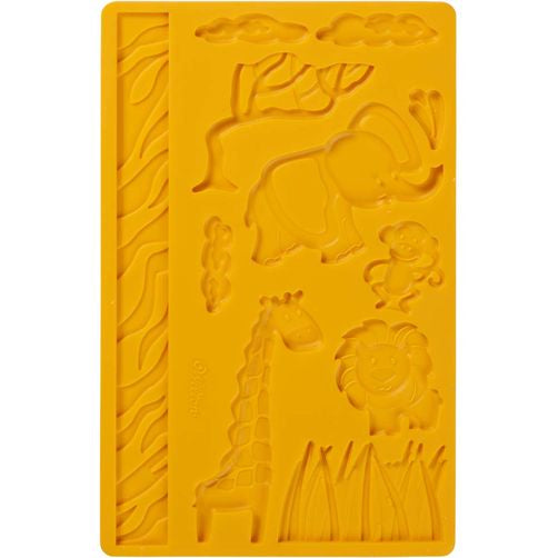 Jungle Animals Silicone Mold