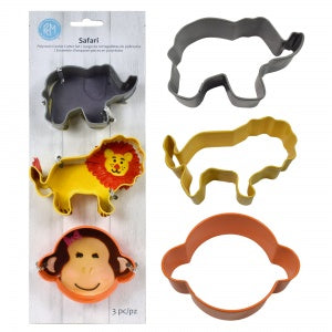 Safari Cookie Cutters