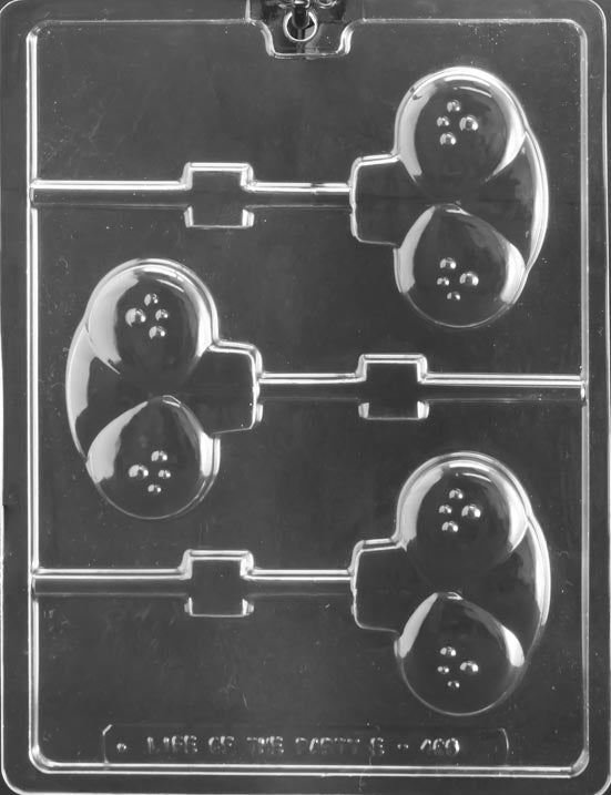 Bunny Cheeks, Teeth Lollipop Chocolate Mold
