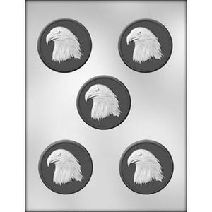 "Eagle Medallion 2.5"" Chocolate Mold"