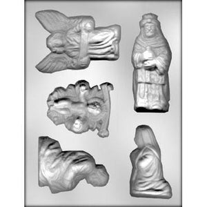 Nativity chocolate mold