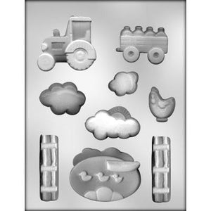 Farming scene Chocolate Mold