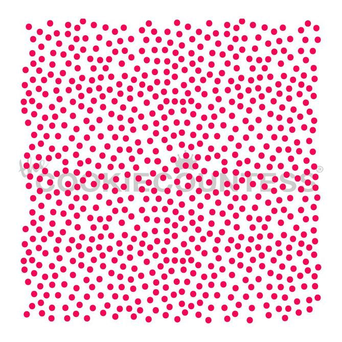 Doodle Dots Background Stencil