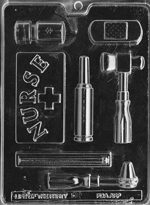 Nurse Tools Chocolate Mold