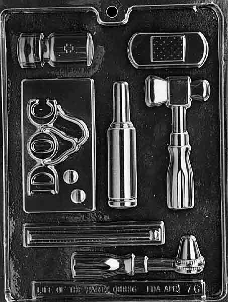 Doctor's Tools Chocolate Mold