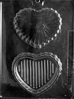Medium Pour Heart Box Chocolate Mold