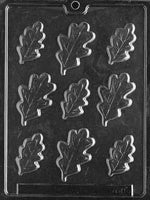 Large Oak Leaves Chocolate Mold