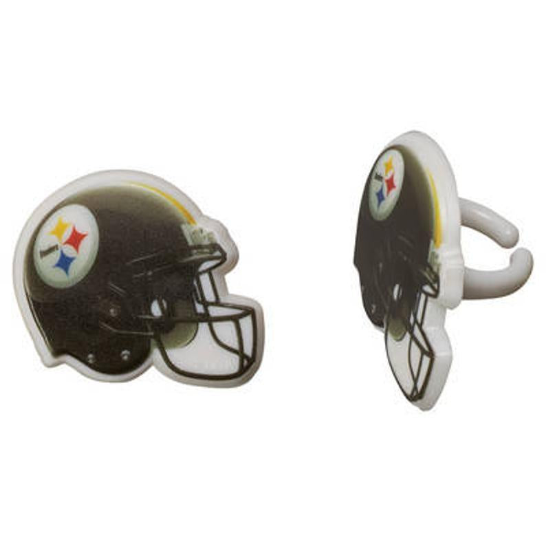 Steelers Helmets - 12 Rings