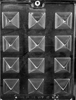 Small Pyramid Chocolate Mold