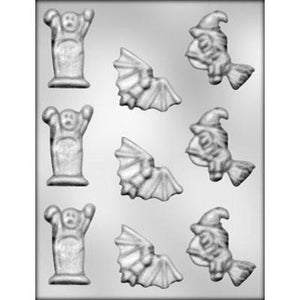 Assorted Halloween Chocolate Mold
