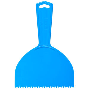 Decorating Comb w/ Handle - Diamond Tooth