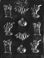 Assorted Halloween Characters Chocolate Mold