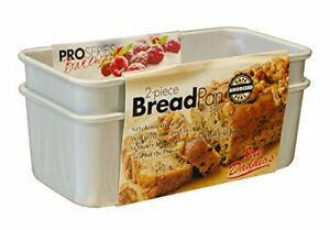 Fat Daddio's Bread Pan Set 7.75x3.75.2.75