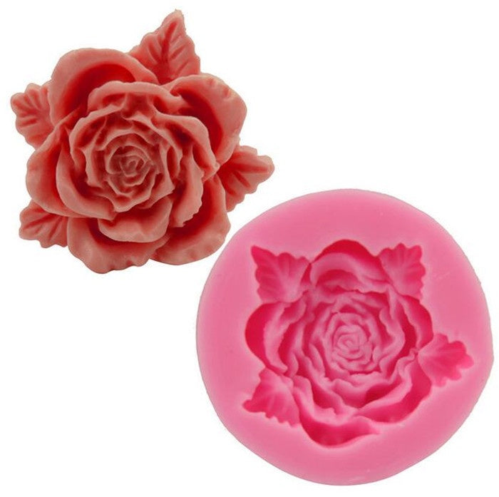 3D Rose Silicone Mold
