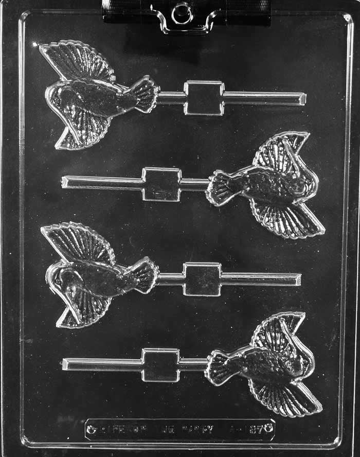 Hummingbird Lolly Chocolate Mold