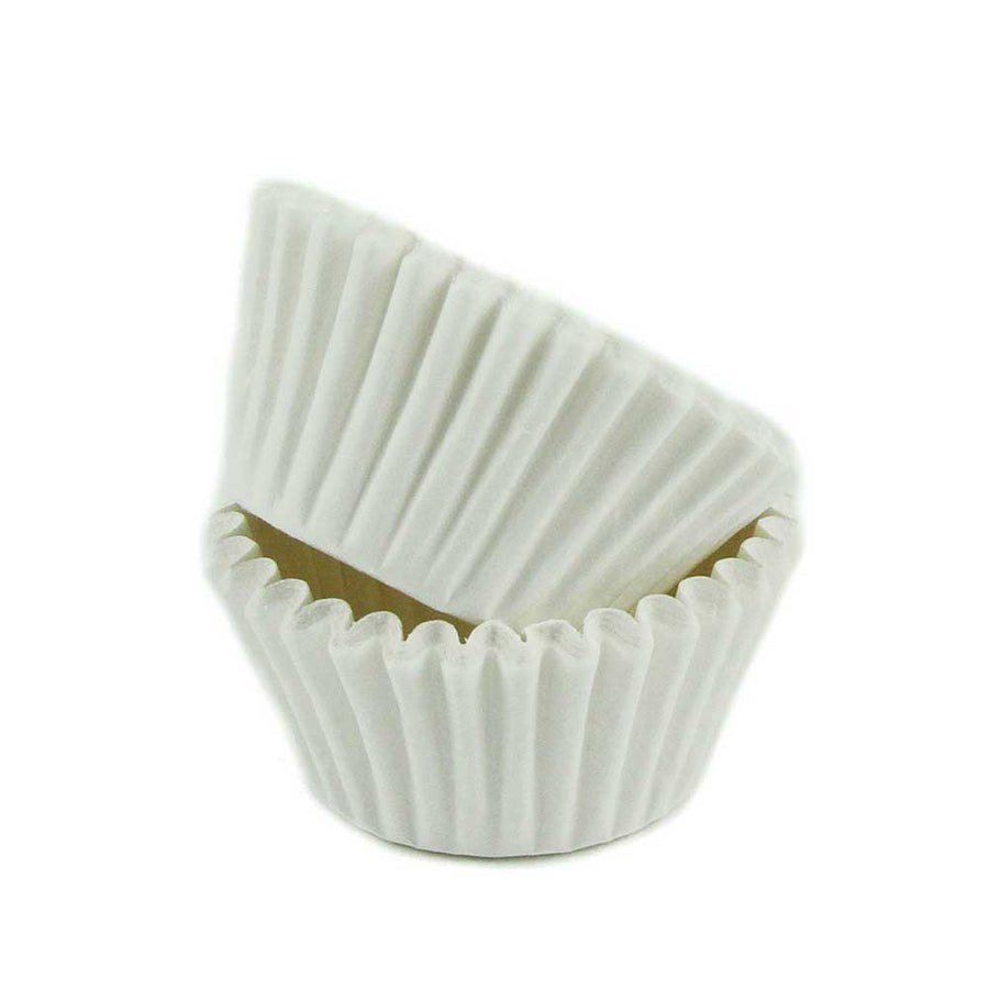 "#5 White Candy Cups (1.25"") - 120ish"
