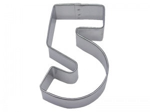 Number 5 Cookie Cutter