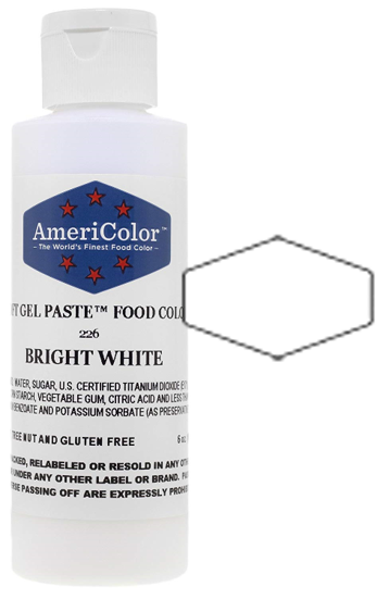 Americolor Soft Gel Paste Food Color - Bright White