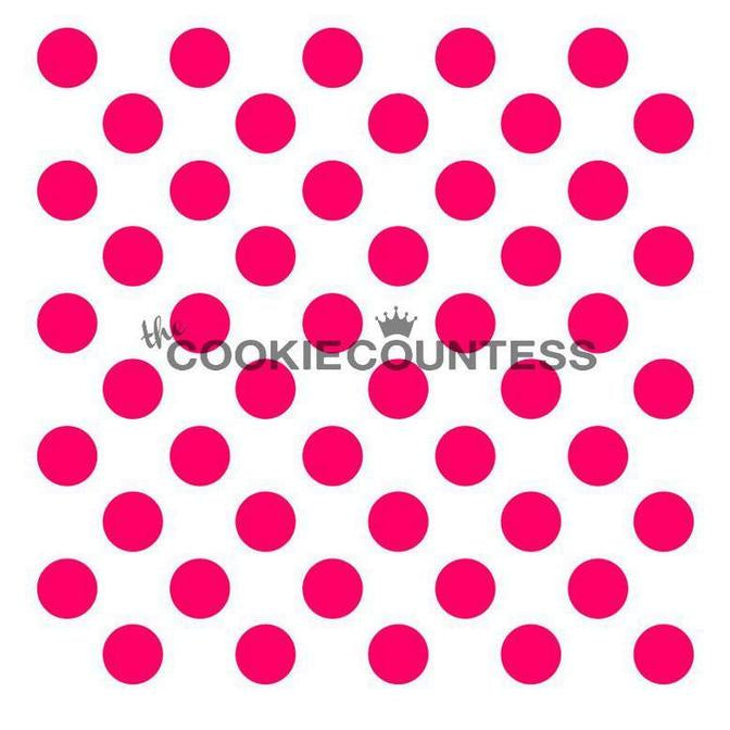 Medium Polka Dots Stencil