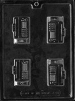 Fax Machine Mini Chocolate Mold
