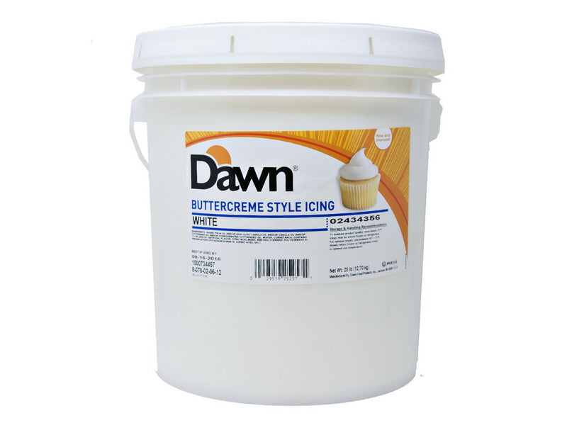 Dawn White But-R-Creme Icing - 28lbs