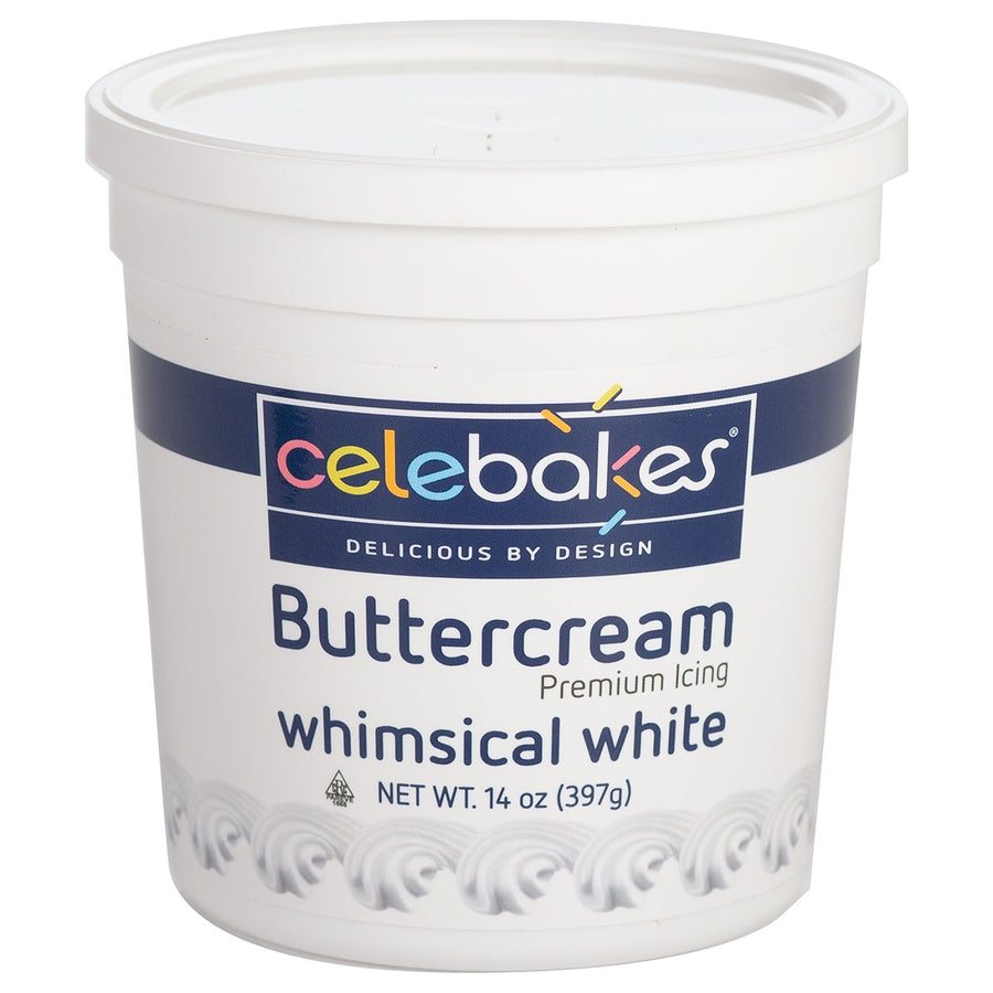 Celebakes Whimsical White Buttercream, 14oz