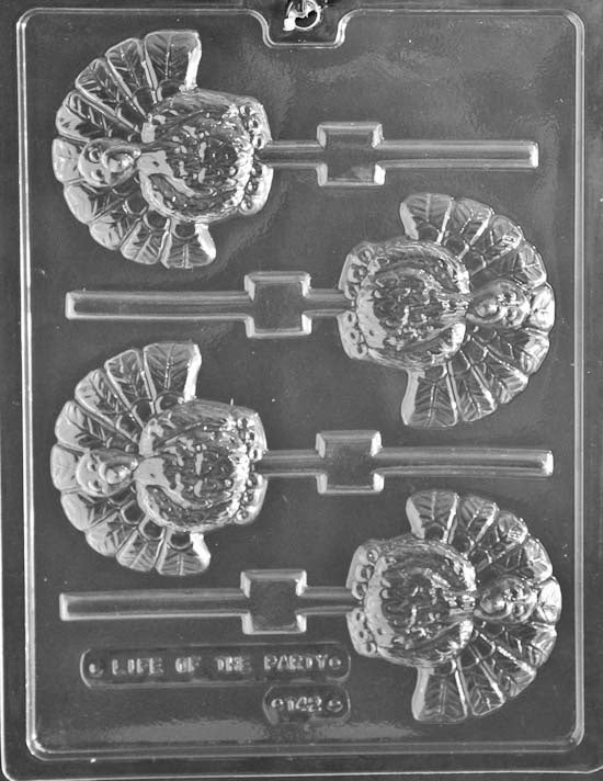 Turkey Lolly Chocolate Mold
