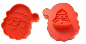 Double Sided Cookie Cutter - Santa