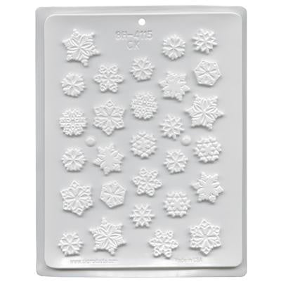 Snowflakes Candy Mold