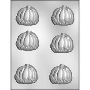 6pc Pumpkin/Leaves Chocolate Mold