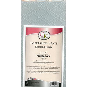 Impression Mats - Large Diamond