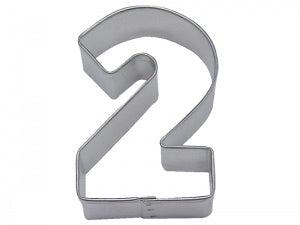 Number 2 Cookie Cutter