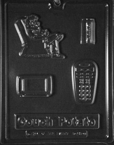 Couch Potato Kit Chocolate Mold
