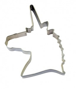 "4.75"" Unicorn Head Cookie Cutter"