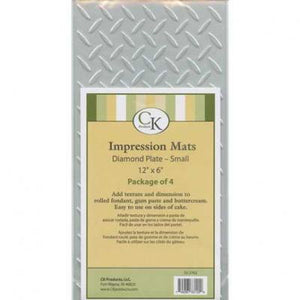 Small Diamond Plate Impression Mat