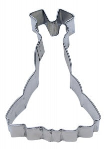 "4"" Gown Cookie Cutter"