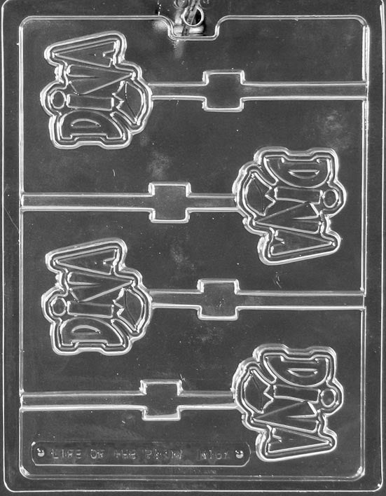 Diva Lollipop Chocolate Mold