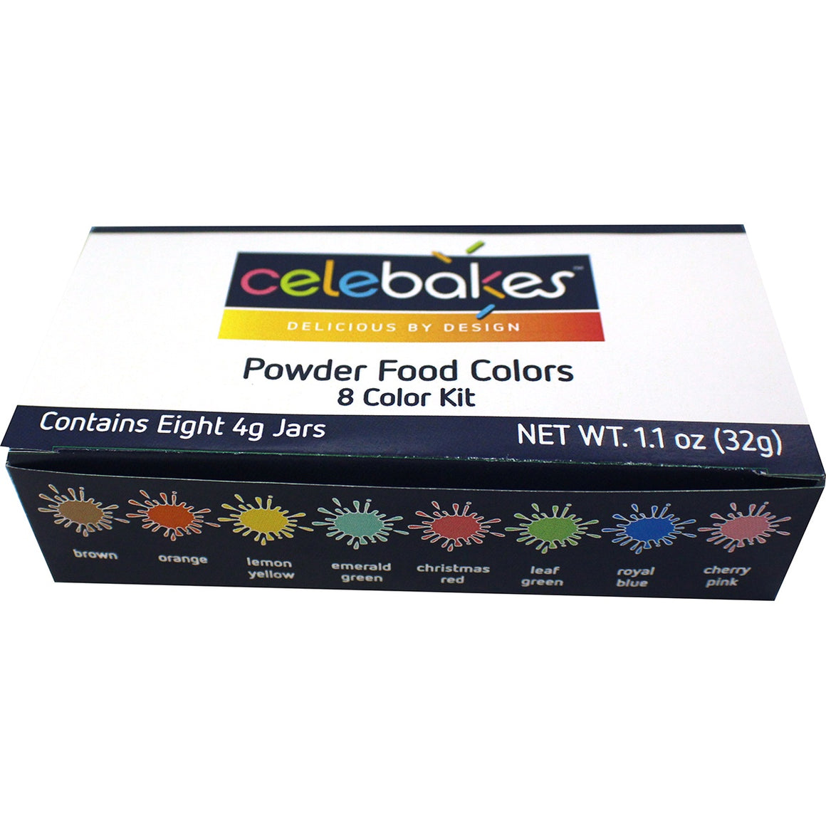 Celebakes Powdered Color Kit (8)